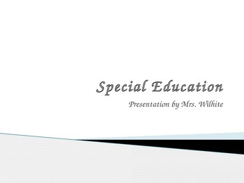 Presentation on Special Education
