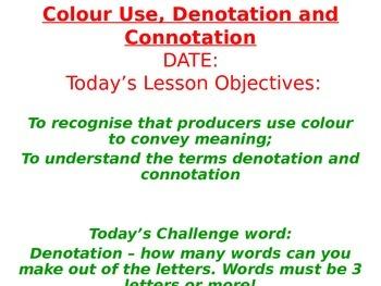 Presentational Devices - Colour