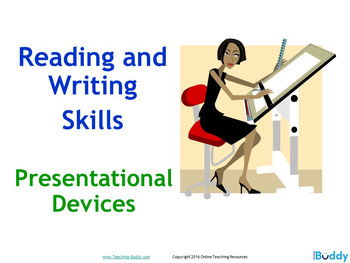 Presentational Devices - PowerPoint and Worksheets