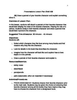 Presentations lesson Plan Shell #38