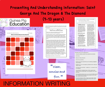 Presenting And Understanding Information:Saint George (Information Writing) 9-14