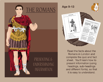 Presenting And Understanding Information: The Romans (Information Writing) 9-14