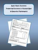Presenting Functions in Multiple Ways