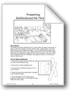 Presenting Goldilocks and the Three Bears (Oral Language Skills)
