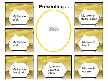 Presenting... Me! (Lift and Learn about Me templates)