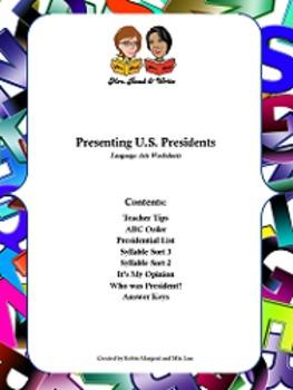Presenting U.S. Presidents