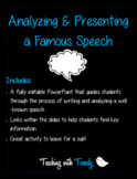 Presenting a Famous Speech
