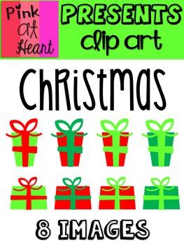 Presents: Christmas Clip Art FREEBIE