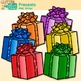 Christmas Present Clip Art {Birthday Gift Box Graphics for Special Occasions}
