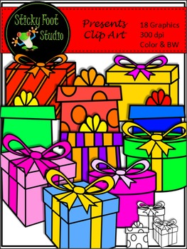 Presents Clip Art Freebie