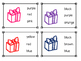 Presents Color Sight Word Clip Cards