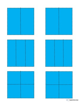 """""""Presents"""" Fraction Squares for Autism"""