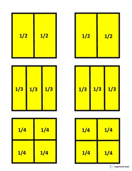 """Presents"" Fraction Squares for Autism"