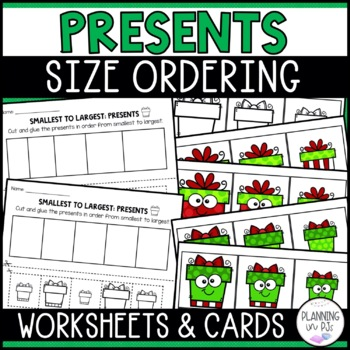 Christmas Presents Size Ordering (From Smallest to Largest)