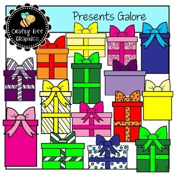 Presents Galore Clip Art Set