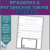Presents and Perspective Taking Christmas Freebie