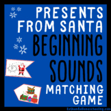 Presents from Santa Beginning Sounds Matching Game