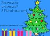 Presents or Presentes? A Plural Noun Sort {FREE}