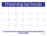 Preserving Our Pencils