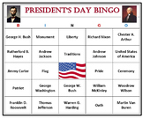 President's Day Bingo Game-Fun and Easy Activity (60 Cards)