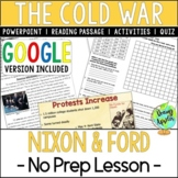 Presidencies of Nixon & Ford; Cold War; Distance Learning
