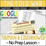 Presidencies of Truman & Eisenhower; Cold War; Distance Learning
