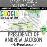 Presidency of Andrew Jackson, Indian Removal Act, Jacksoni