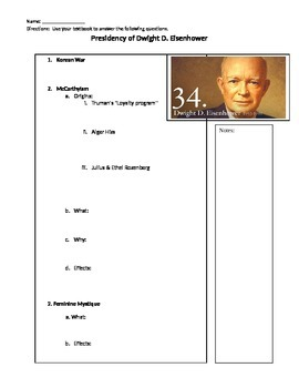 Presidency of Dwight D. Eisenhower Overview