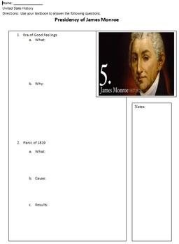 Presidency of James Monroe Overview