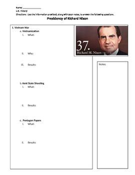 Presidency of Richard Nixon Overview