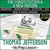 Presidency of Thomas Jefferson, Louisiana Purchase; Distan