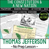 Presidency of Thomas Jefferson, Louisiana Purchase
