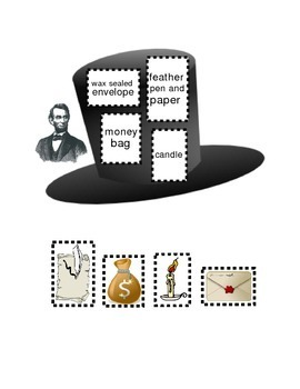 President Abraham Lincoln's Hat Following Directions Emergent Reader Literacy