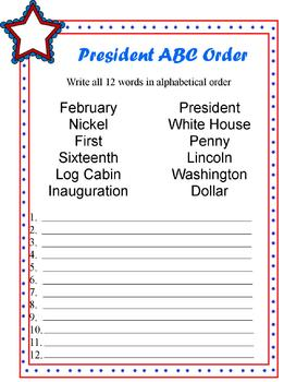 President Activity Package