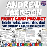 Andrew Jackson Fight Card Poster Project