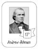 President Andrew Johnson Lapbook & Interactive Notebook