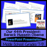President Barack Obama 44th Pres Power Point