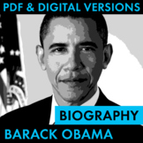 President Barack Obama Biography Research Organizer, Easy