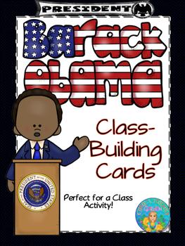 President Barack Obama Class-Building Cards