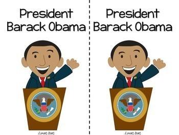 President Barack Obama Emergent Reader
