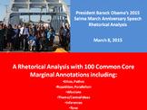 President Barack Obama's 2015 Selma Anniversary Speech Rhetorical Analysis