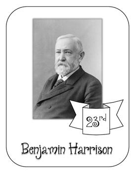 President Benjamin Harrison Lapbook and Interactive   Notebook