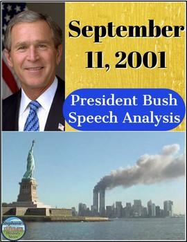 President Bush September 11 Speech Analysis