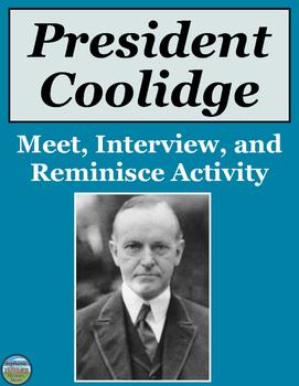 President Calvin Coolidge Activity