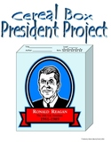 President Cereal Box Project