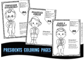 President Coloring Sheets