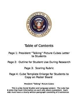 President Cube Packet
