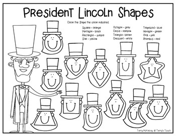 President Day Shapes