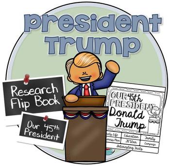 President Donald Trump Flip Book ~ Research Donald Trump