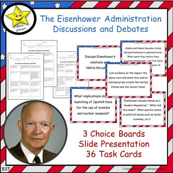 President Dwight Eisenhower Discussions and Debates